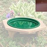 Looker Ms05 Mini Replacement Pan Outdoor Bird Bath - Clay