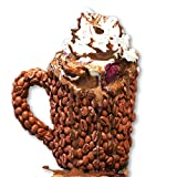 coffee bean mug - THE Coffee Beans Coffee Mug, Fathers Day Gift- Realistic Resin Light Roast Beans, Perfect Birthday Present For Dad, Mom, Husband, Wife, Brother, Sister or Friend