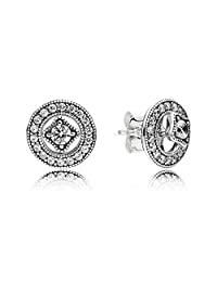 PANDORA 290721CZ Vintage Allure Earrings (10 mm)