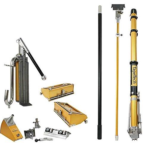 TapeTech Full 10/12 Drywall Taping & Finishing Set (Dust Free Drywall Sander)