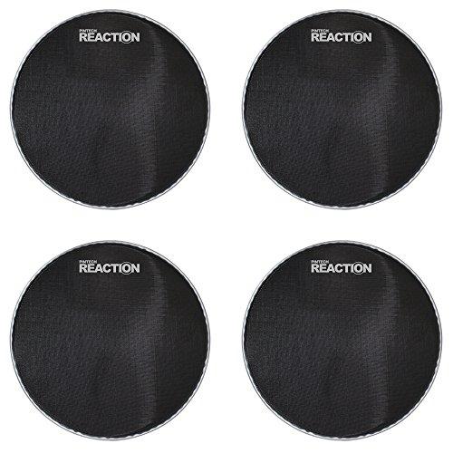 Pintech Percussion RH-10B-4PK Reaction Series Black Mesh Head 10'' - 4 Pack by Pintech Percussion