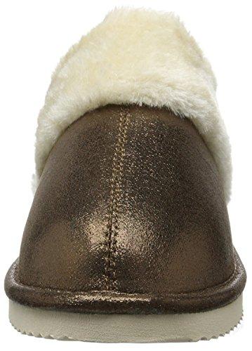flip*flop Cuddle - Pantuflas cálidas con forro Mujer Marrón - Braun (Brown sugar 833)