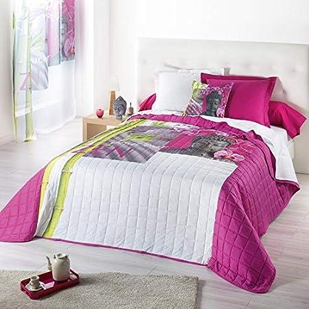 Couvre lit matelassé - 220 x 240 cm - Douceur