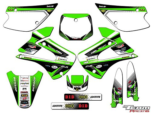 Team Racing Graphics kit for 2001-2013 Kawasaki KX 85/100, ANALOG Complete Kit