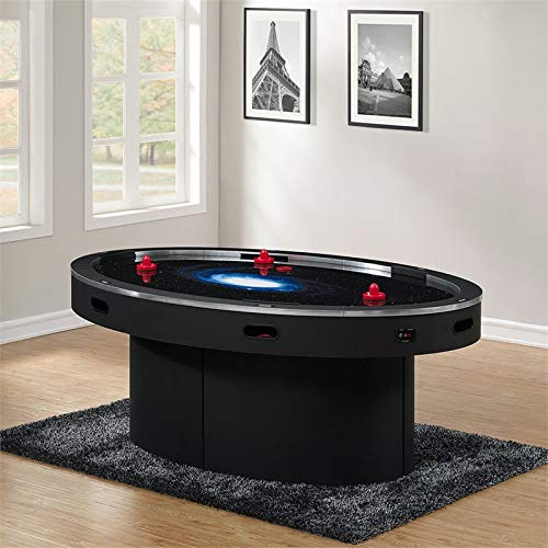 American Heritage Ellipse Six Player Air Hockey Table