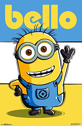 Trends International Despicable Me Bello Wall Poster 22.375