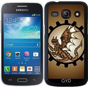 Funda para Samsung Galaxy Core Plus (SM-G350) - Dragón Steampunk by Pezi Creation