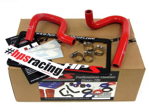 HPS 57-1324H-RED Red Silicone Heater Hose Kit (Coolant) by HPS (Image #1)