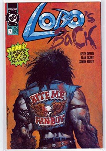 Lobo's Back #1 (1992) 1st Print Simon Bisley Cover (Bisley Cover)