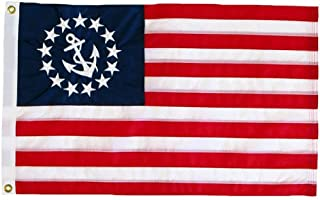 product image for U.S. Yacht Ensign Flag 12X18 Inch Nylon