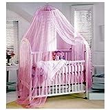 Smart Fun Baby Mosquito Net Kleinkind Moskitonetz Mückenschutz Runde Bett Baldachin Fliegengitter...