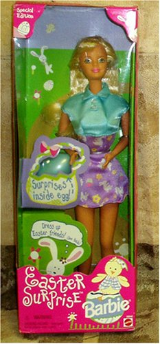Barbie Doll Easter Surprise Special Edition Comes with Easter Egg with Surprises Inside