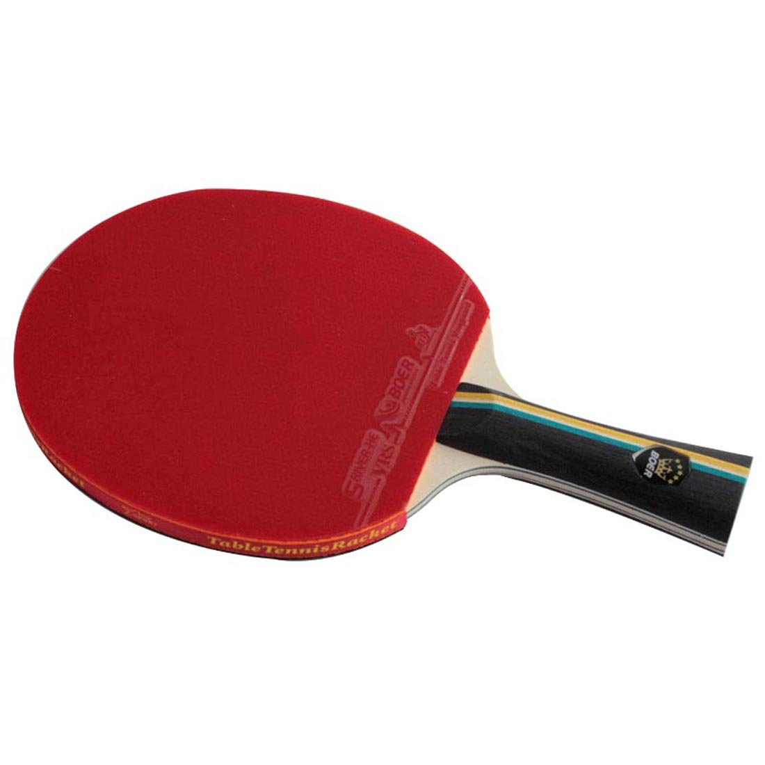プロフェッショナル表テニスクラブ専用CompetitionとトレーニングTable Tennis Racketsピンポンパドル( Long )  2 STAR B06XXQSQ5M