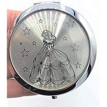 Quinceanera favors Sweet 16 Double Compact Mirror set of 12 Silver Princess Recuerdos de quinceanra Espejos