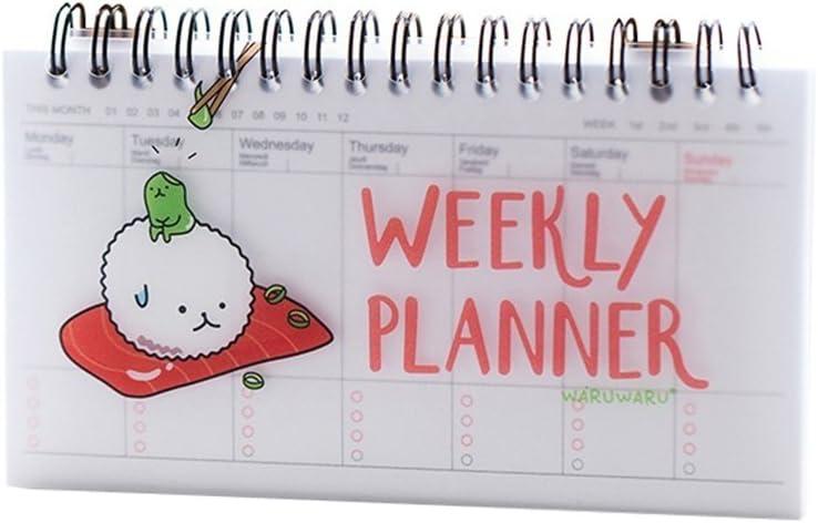 Lovely diario planificador semanal organizador de Plan de