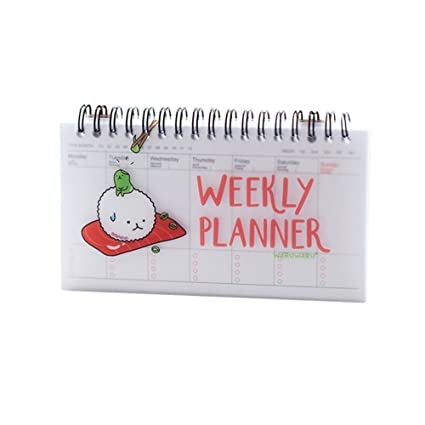 Amazon.com : Cute Daily Planner Weekly Day Plan Time ...