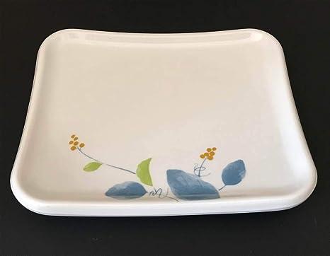 Amazon.com: Bandeja rectangular de plato de melamina de ...