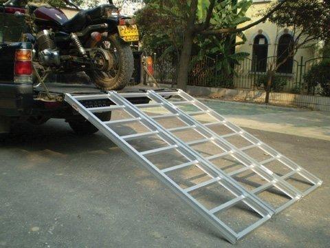 7'x54'' Tri-fold Straight Ramp 1200 Lb