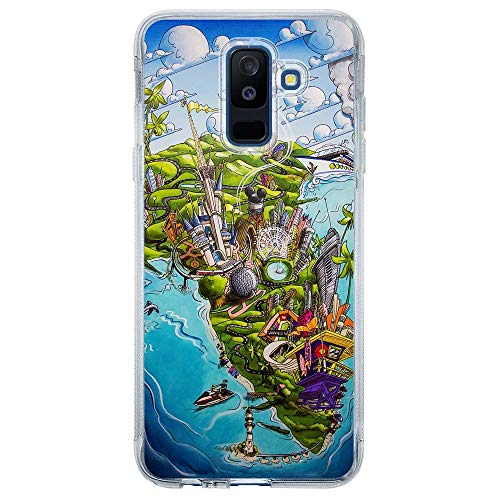 Capa Personalizada Samsung Galaxy A6 Plus A605 Designer - DE29