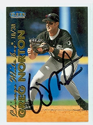 Greg Norton AUTOGRAPH 1999 Fleer Tradition Chicago White Sox