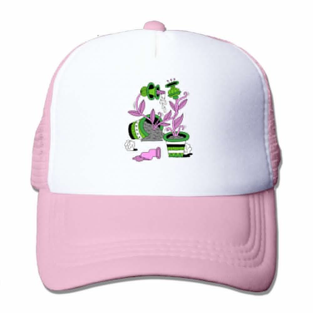 Teesofun Mesh Baseball Caps Plant Watering Circulation System Unisex Adjustable Sports Trucker Cap