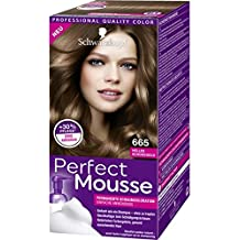 Schwarzkopf Perfect Mousse Permanent Hair Color 665 Bright Chocolate