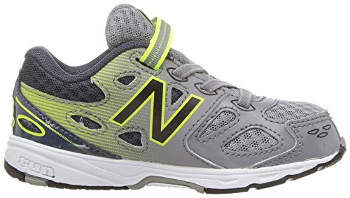 New Balance Boys' 680 V3 Running Shoe, Grey/Hi-Lite, 12 W US Little Kid Photo #9