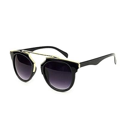 Gafas de sol polarizadas frameless Lady Lady retro gafas de sol marca