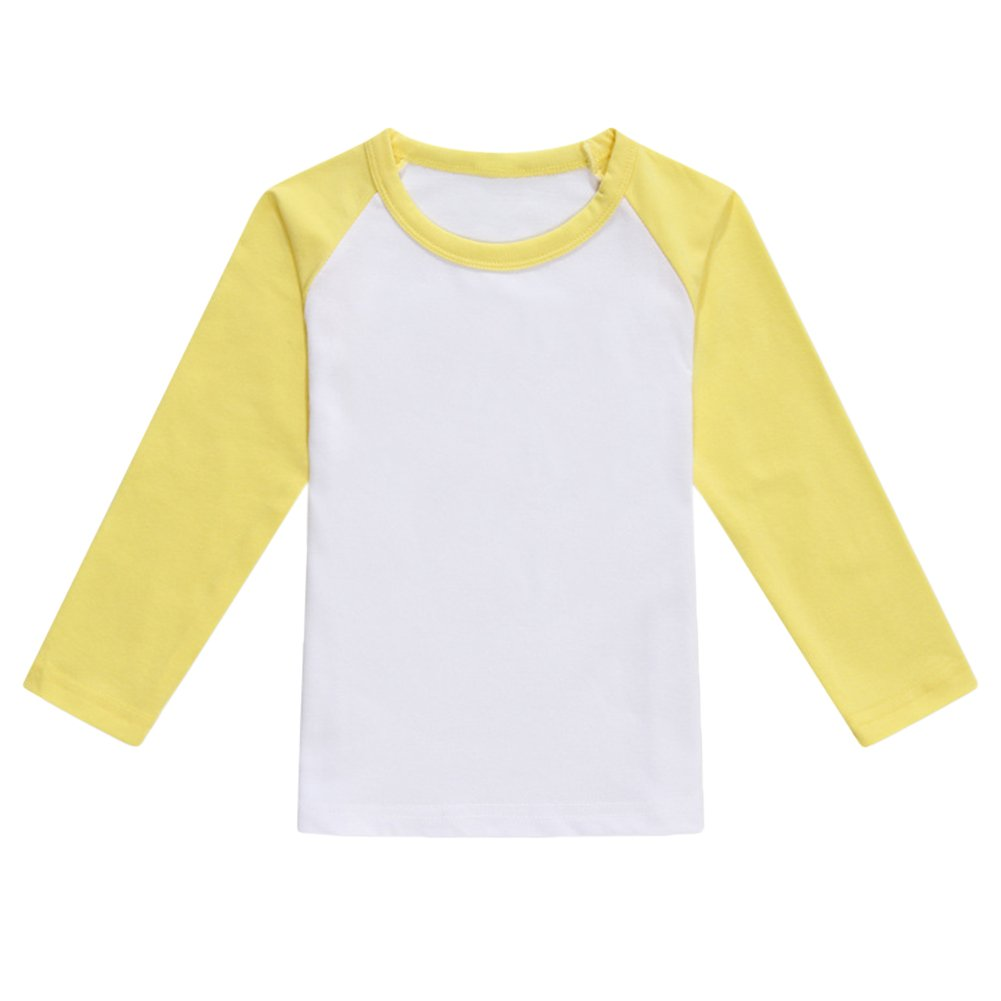 Unisex Kids Baseball T Shirt Top Long-Sleeve Raglan 3/4 Sleeve MN-lfb-20180109-12-05