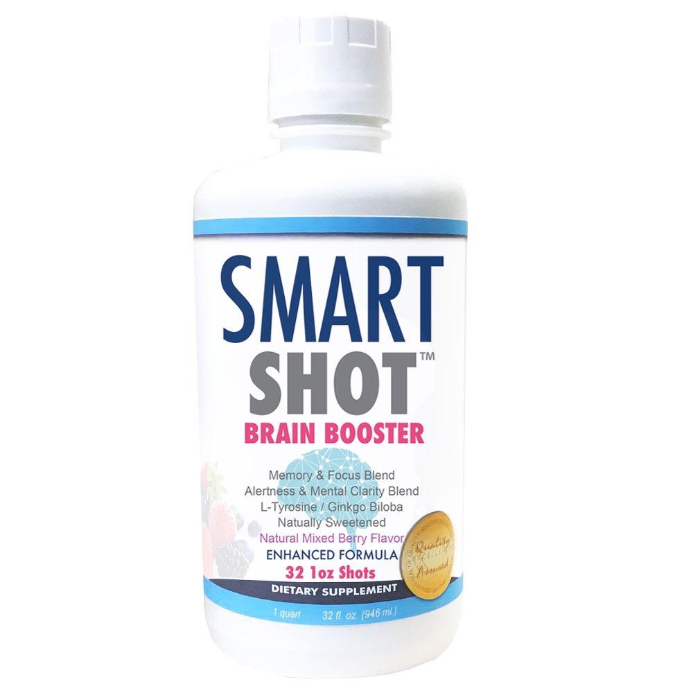 Amazon Com Smart Shot Liquid Brain Supplement Nootropic