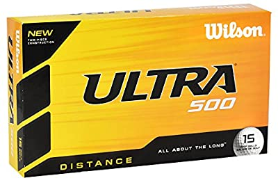Wilson Ultra 500 Distance Golf Balls by Wilson
