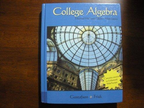 College Algebra 9th Edition 2008 9780495461982 Slugbooks