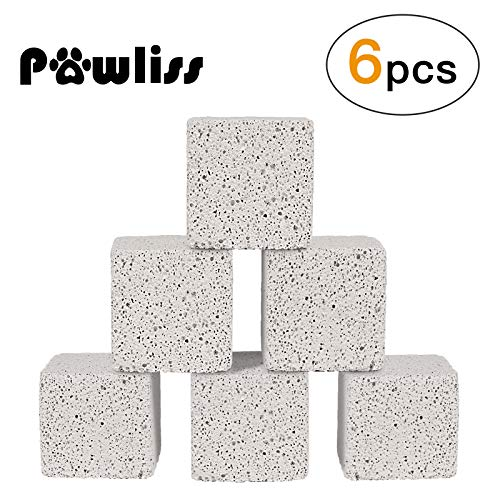 Pawliss Teeth Grinding Lava Block for Hamster Chinchilla Rabbit (Pack of - Rabbit Chinchilla
