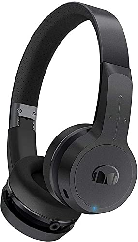 Monster Clarity HD Designer Series Black On-Ear Bluetooth Wireless Headphones