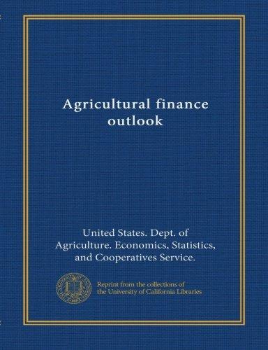 Download Agricultural finance outlook (no.17) pdf