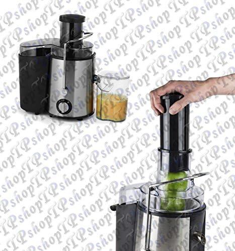 Centrifugadora eléctrica de frutas/verduras y extractor de zumos ...