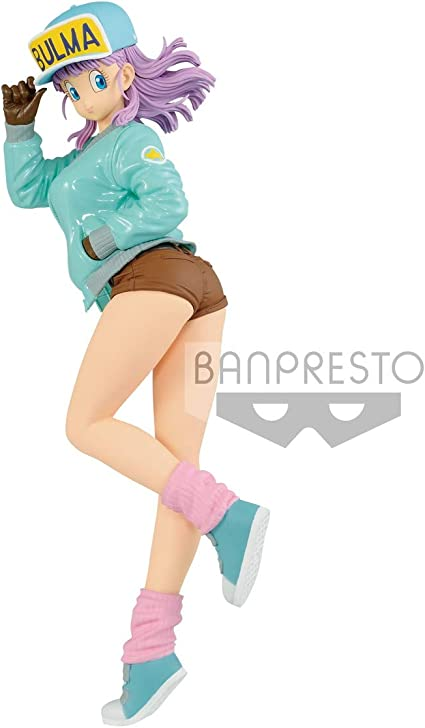 Banpresto Glitter /& Glamour Dragon Ball Z Bulma Blue Ver Figure