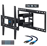 #5: Mounting Dream MD2380-24 TV Wall Mount Bracket with Full Motion Articulating Arms for most 26-55'' LED, LCD, OLED and Plasma TVs up to VESA 400 x 400mm and 99 lbs. Fits 16'', 18'', 24'' wood studs