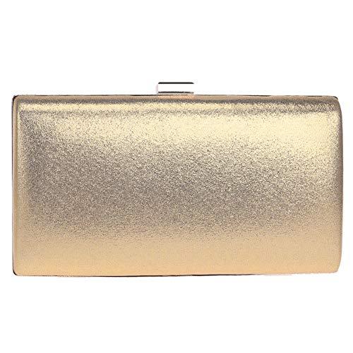 Main Maquillage Gold Chaîne Femme Bal pour Sac Clutch Bandouliere à Fête Sac Mariage Bourse Pochette Soirée Y6fxqxa
