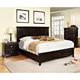 Product review for Furniture of America Pasha 3-Piece Queen Platform Bedroom Set with Nightstand and Chest, Espresso Finish