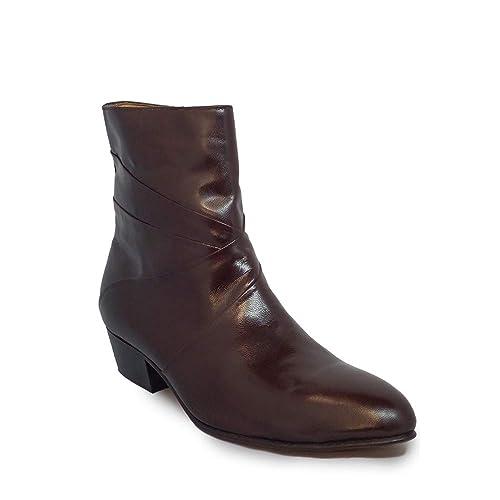 e4f25eb7bca4b Amazon.com | #24584 Giorgio Brutini Men`s Boots | Black/Burgundy ...