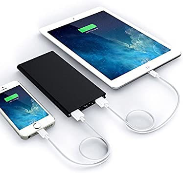 Agda® Portable 20000 Mah 3.7 V 2 USB externo Powerbank battery ...