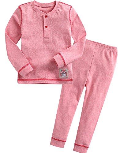 Pink 2 Piece Pajamas - 2