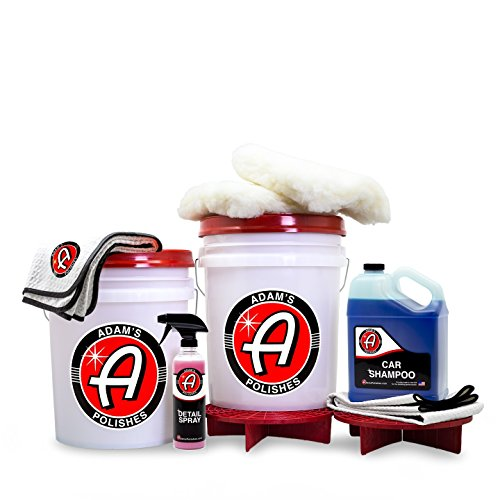 Adam's Complete 2 Bucket Car Wash Kit