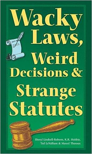Weird sc laws