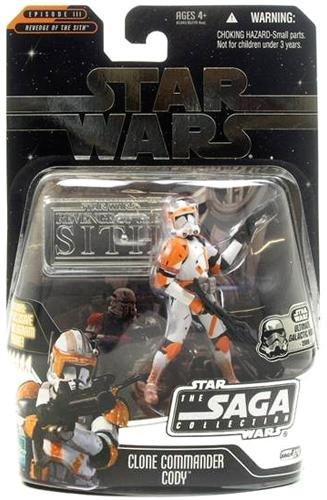 Star Wars Saga 2006 Basic Action Figure Commander Cody (Ultimate Galactic Hunt) MEGA Hot! by Saga '06