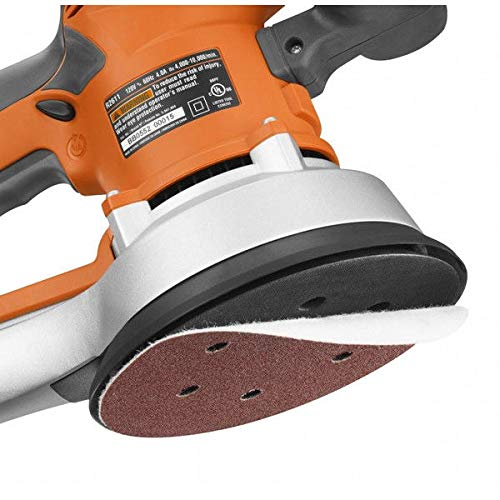 RIDGID ZRR2611 Professional 6-inch Random Orbit Variable Speed Sander (Certified Refurbished)