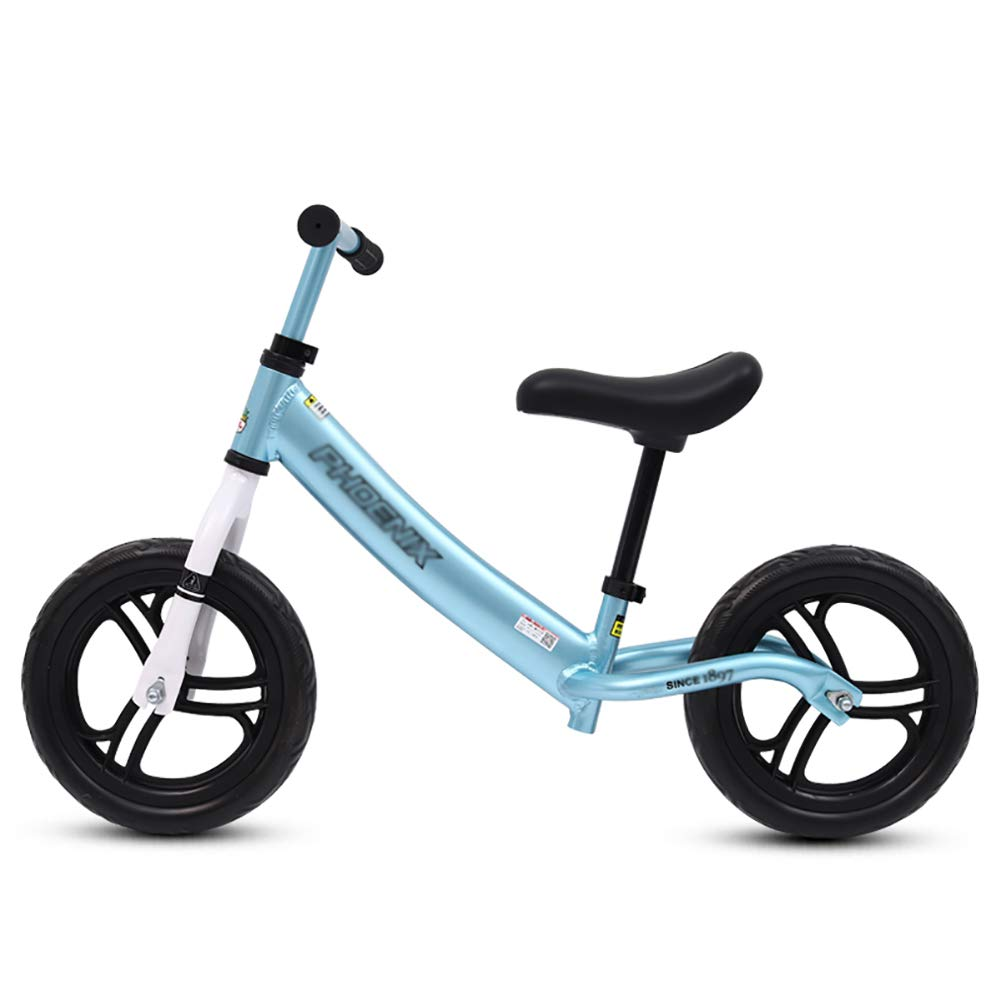 Biciclette senza pedali Sport Balance Bike con Impugnatura Regolabile Impugnatura e Sedile, 360 ° Sterzo No Pedal Push Bike per 31-47 Pollici Kids, 66lbs capacità (colore   Blu)