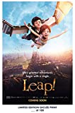 RARE POSTER thick LEAP! ABY movie 2016 ballerina REPRINT #'d/100!! 12x18