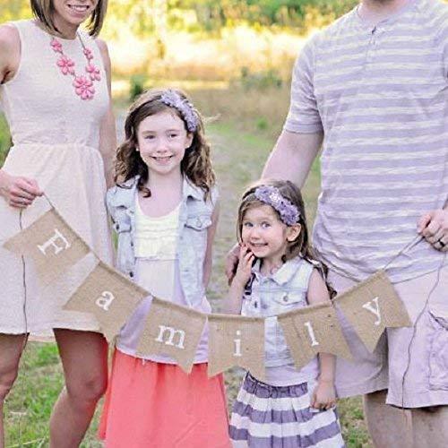 Family Burlap Banner, Family Banner, Burlap Banner, Family Photo Prop, Family Portrait Decor, Family Portraits, Family Photos, Family Sign